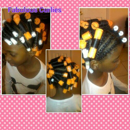 perm rods on natural hair   fabolouscurlies