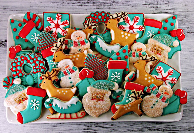Christmas Sugar Cookies Fabolouscurlies