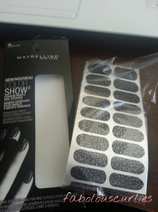 Maybelline Nail Strips