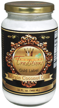 Tropical Traditions 100% Gold Virgin Coconut Oil
